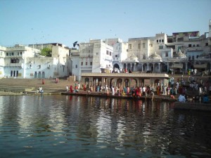 Ghats of Pushkar Lake