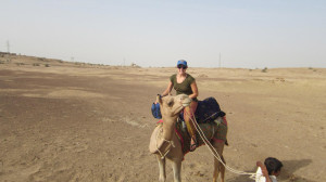 Camel Safari in Sand dunes
